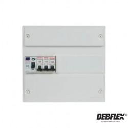 DEBFLEX Tableau pré-équipé 13modules-electricité pas cher troyes prix usine prise interrupteur disjoncteur