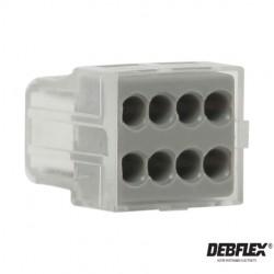 DEBFLEX borne automatique- Wago-electricité pas cher troyes prix usine prise interrupteur disjoncteur
