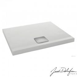 ODÉON UP - Receveur à poser ou à encastrer rectangulaire 120 x 90 x 6 cm - Blanc antidérapant - pas cher prix usine Troyes