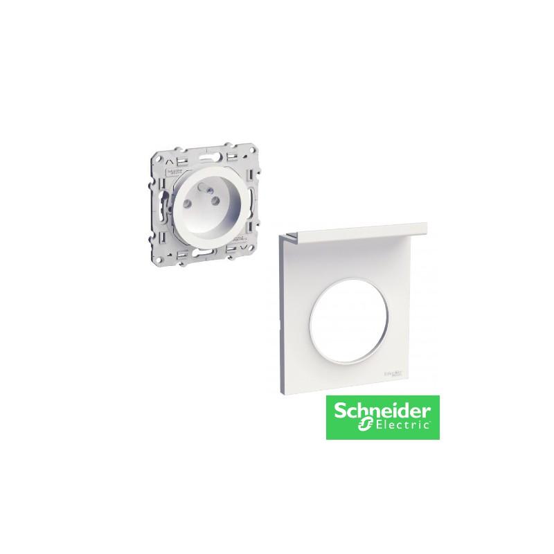 ODACE prise + support Universel -electricité pas cher Troyes prix usine prise interrupteur disjoncteur