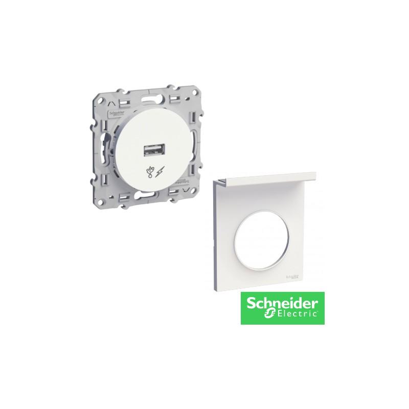 ODACE chargeur usb + support téléphone -electricité pas cher Troyes prix usine prise interrupteur disjoncteur