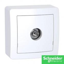 ALREA prise TV-alrea-schneider-electricité pas cher Troyes prix usine prise interrupteur disjoncteur