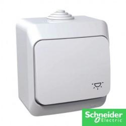 Cedar+ bouton poussoir etanche IP44-cedar+-schneider-electricité pas cher troyes prix usine prise interrupteur disjoncteur