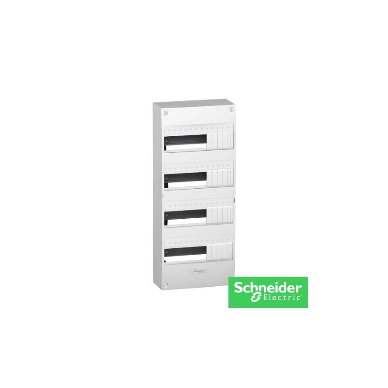OPALE Coffret électrique 4 rangées-13404-schneider-electricité pas cher troyes prix usine prise interrupteur disjoncteur